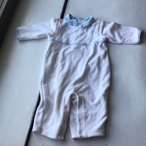 Janie and Jack sweet white and blue Layette 3-6 m